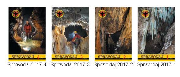 , Spravodaje SSS – 2017, Slovenská speleologická spoločnosť, Slovenská speleologická spoločnosť